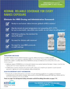 Rabies Prevention Scenarios Brochure